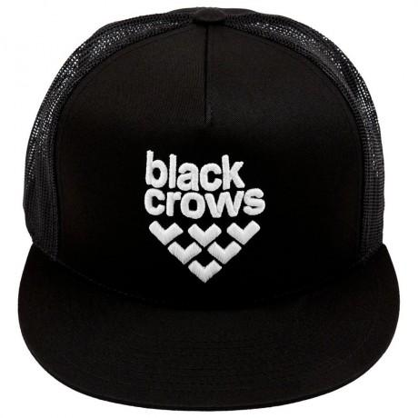 BLACK CROWS FULL LOGO TRUCKER CAP BLACK/BLACK/WHITE 2019 Black crows - 2