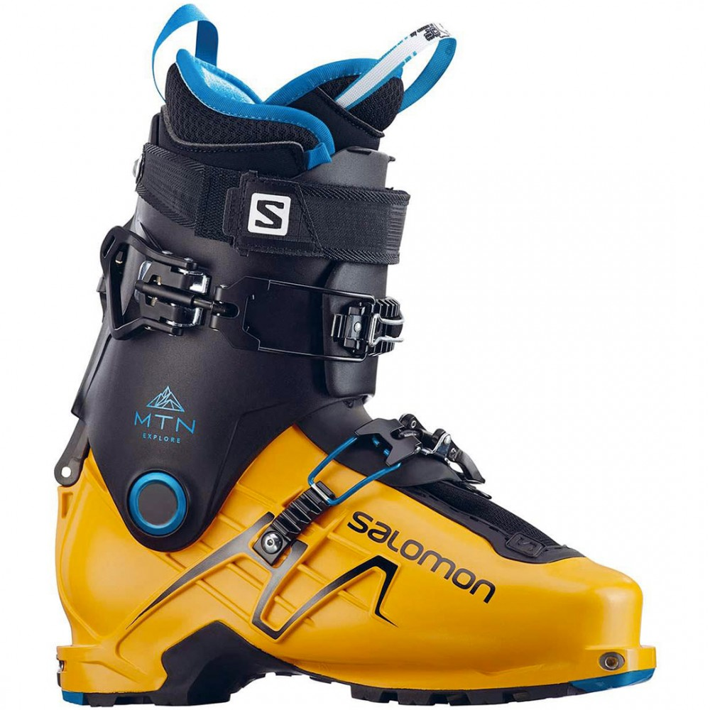 SALOMON MTN EXPLORE SAFRAN/BLACK 2018