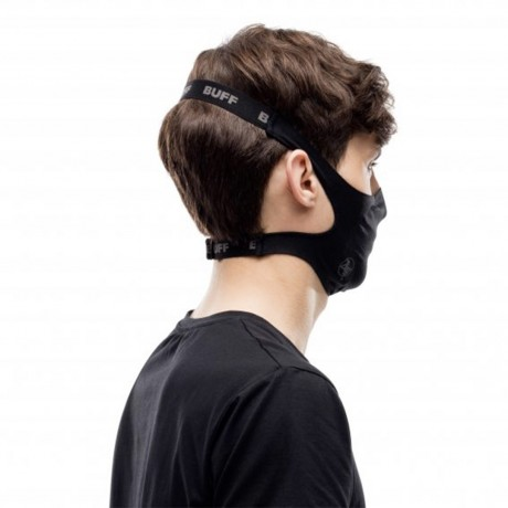 BUFF FILTER MASK SOLID BLACK 2021 Buff - 4