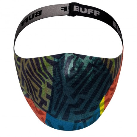 BUFF FILTER MASK KIDS STONY GREEN 2021 Buff - 3