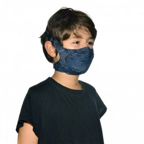 BUFF FILTER MASK KIDS KASAI NIGHT BLUE 2021 Buff - 4