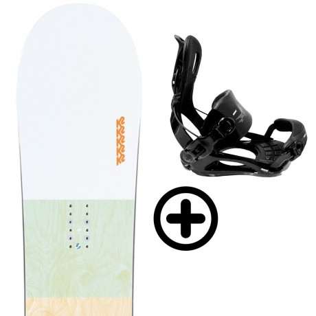 Labourseauxskis PACK BUNDLE 20 K2 Snowboard - 1