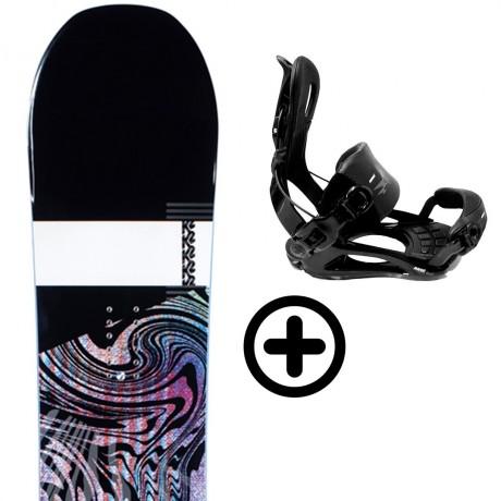 K2 RAYGUN 2021 + FIX K2 Snowboard - 1