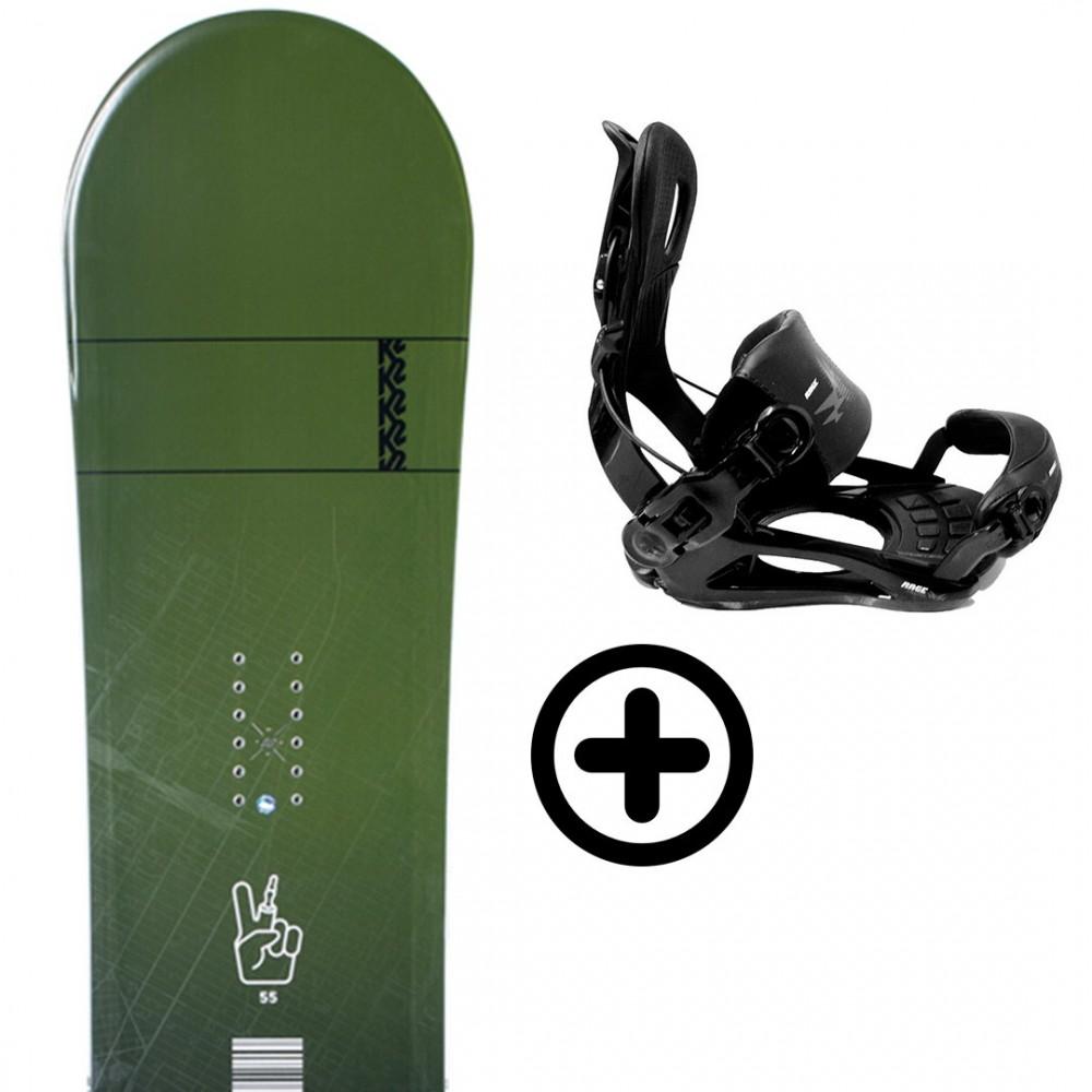 Labourseauxskis PACK BUNDLE 22 K2 Snowboard - 1