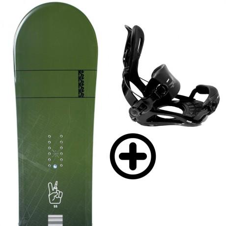 K2 STANDARD 2021 + FIX K2 Snowboard - 1