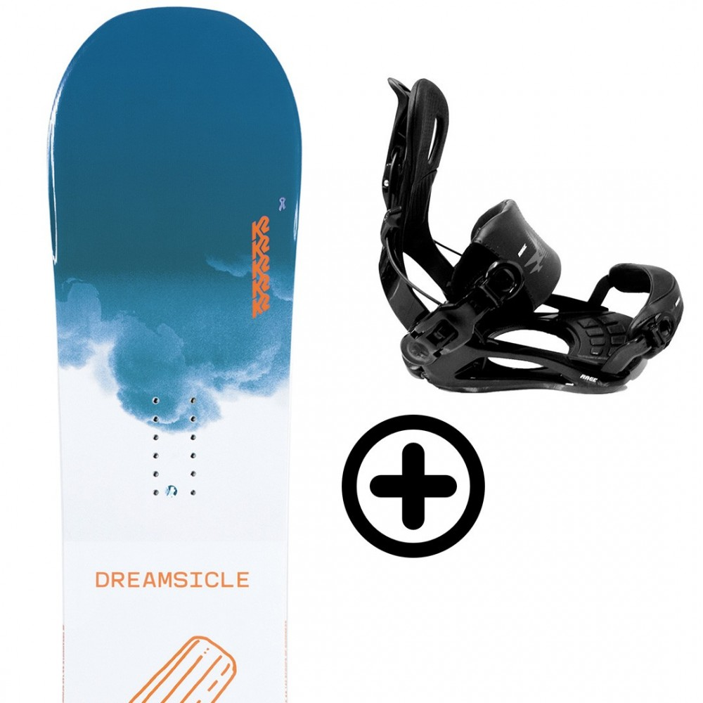Labourseauxskis PACK BUNDLE 24 K2 Snowboard - 1