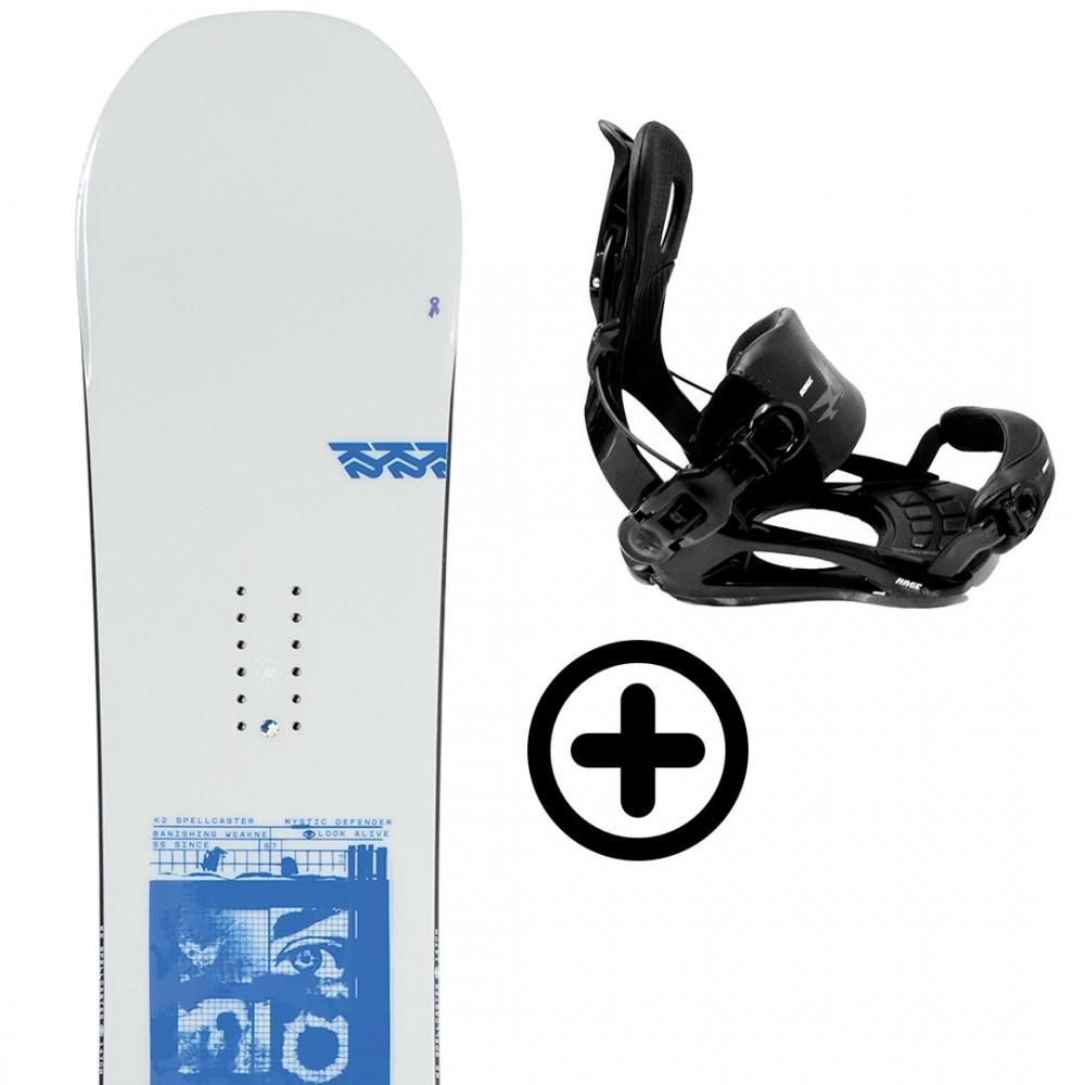 K2 SPELLCASTER 2021 + FIX K2 Snowboard - 1