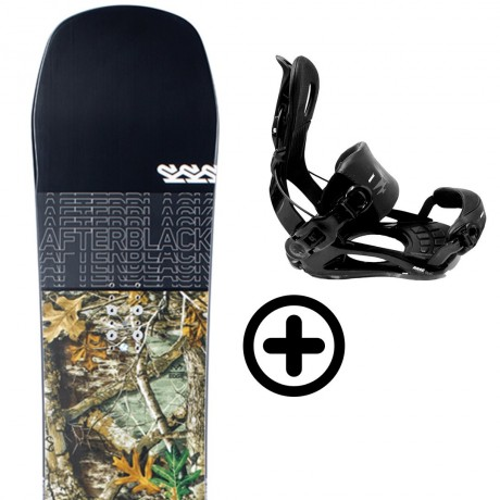 K2 AFTERBLACK 2021 + FIX K2 Snowboard - 1