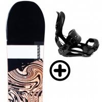 K2 RAYGUN POP 2021 + FIX K2 Snowboard - 1