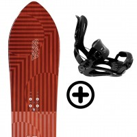 K2 SIMPLE PLEASURES 2021 + FIX K2 Snowboard - 1
