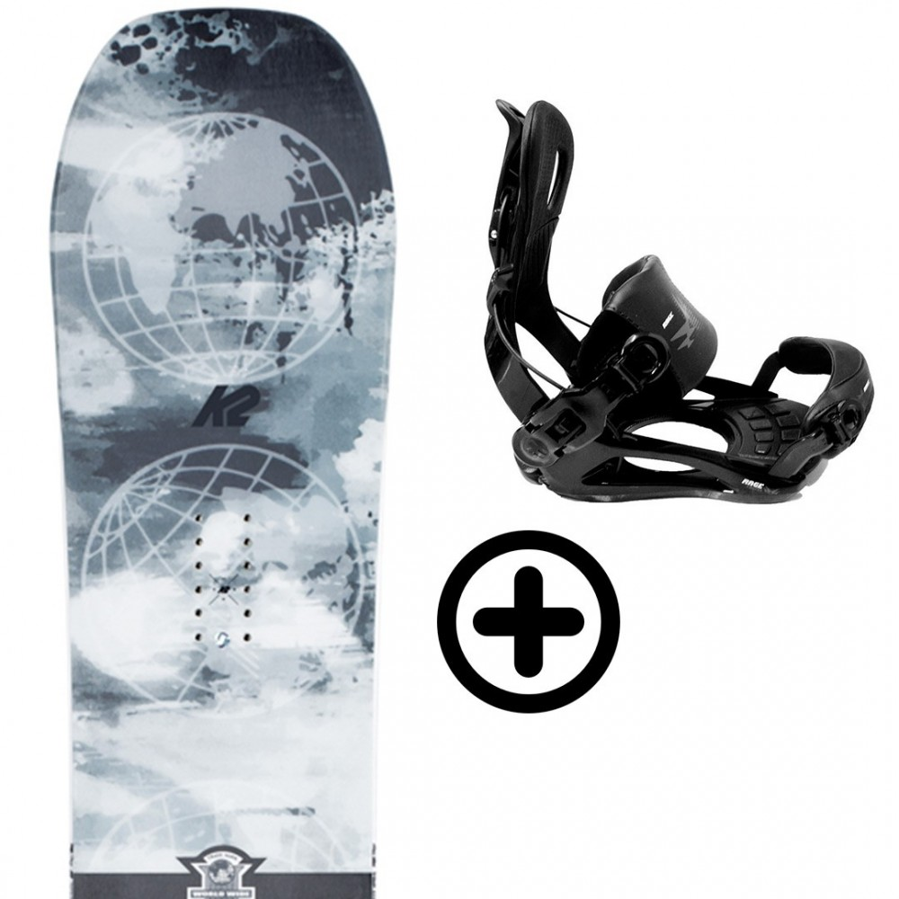 Labourseauxskis PACK BUNDLE 38 K2 Snowboard - 1