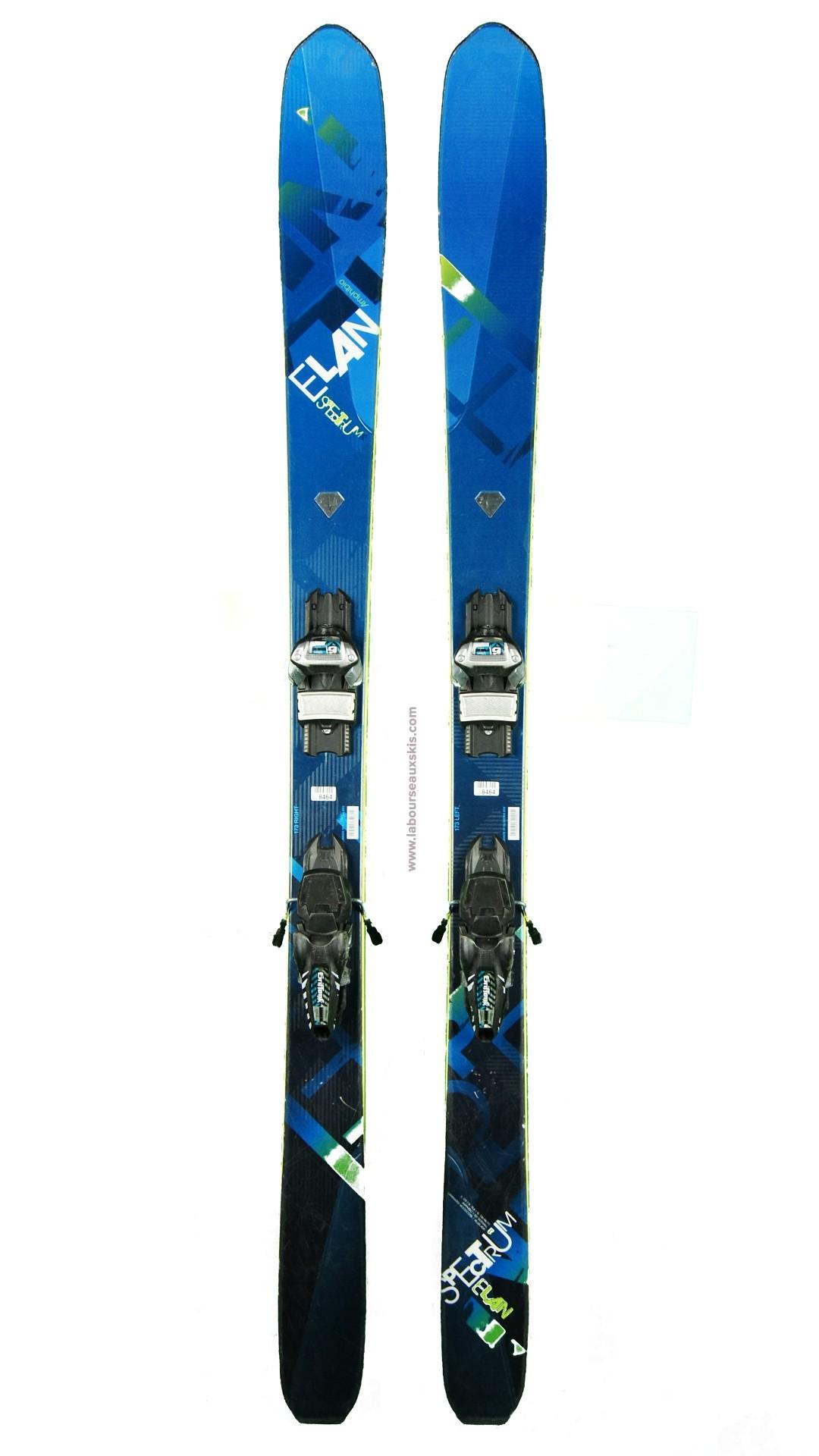 ski occasion elan spectrum 95 skis d 39 occasion. Black Bedroom Furniture Sets. Home Design Ideas