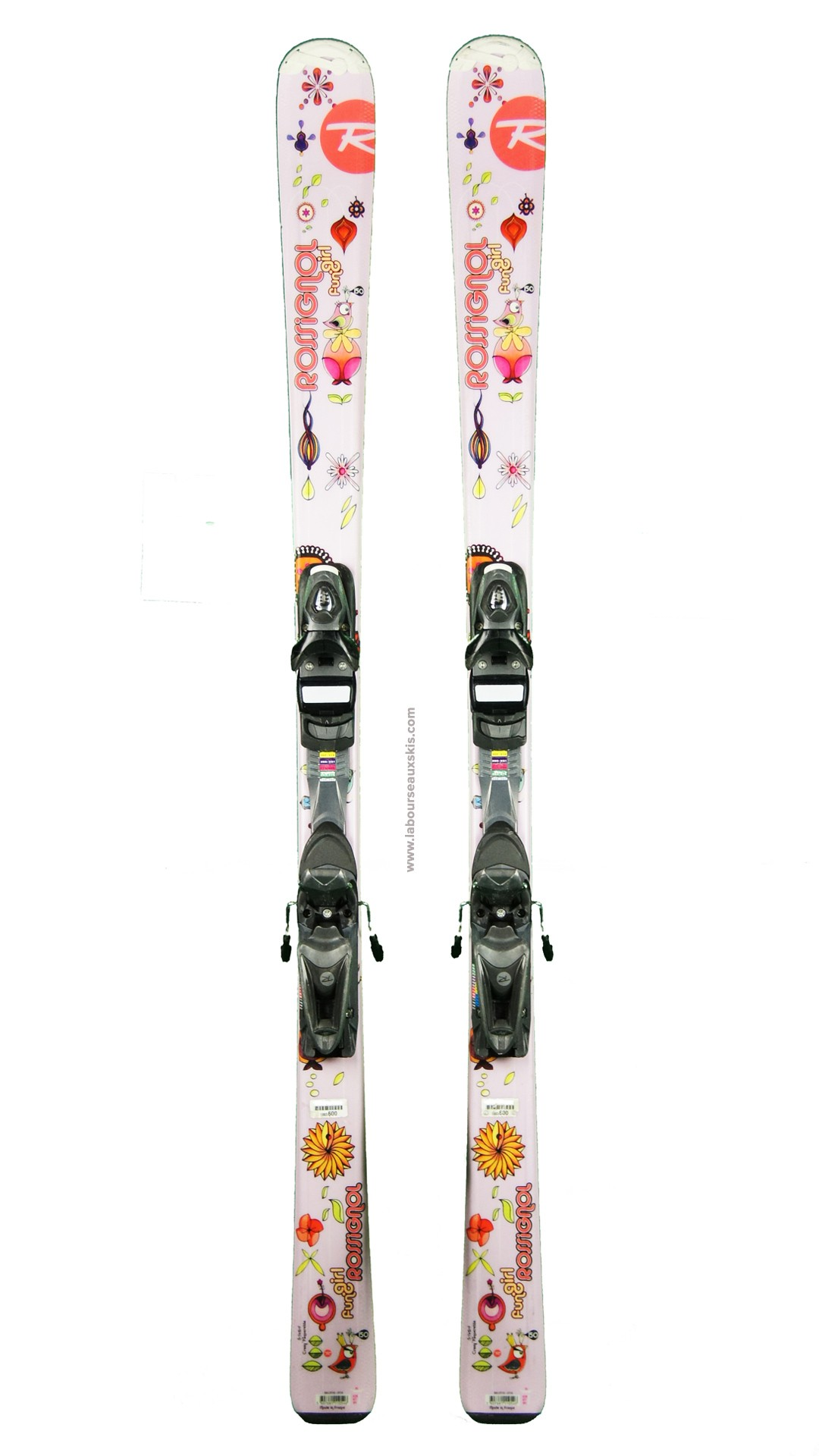 ski occasion rossignol fun girl skis d 39 occasion labourseauxskis. Black Bedroom Furniture Sets. Home Design Ideas