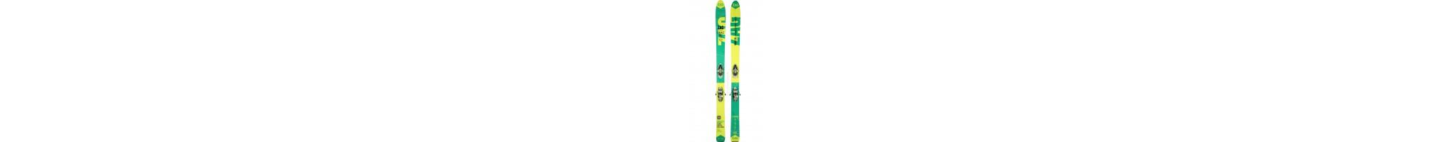 Pack ski enfant, ski junior et ski bébé avec fixation pas cher sur Labourseauxskis