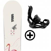 K2 MEDIUM 2021 + FIX K2 Snowboard - 1