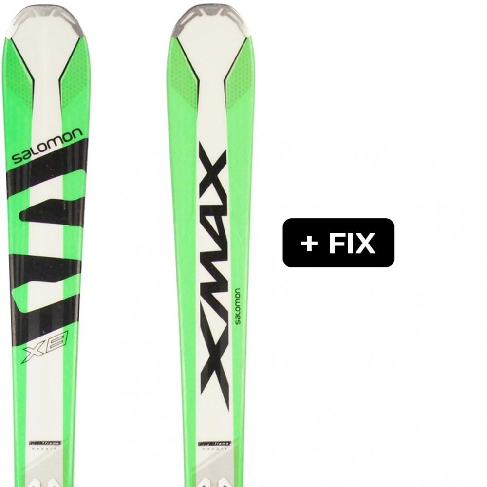 SALOMON X-MAX X8 + FIX XT10