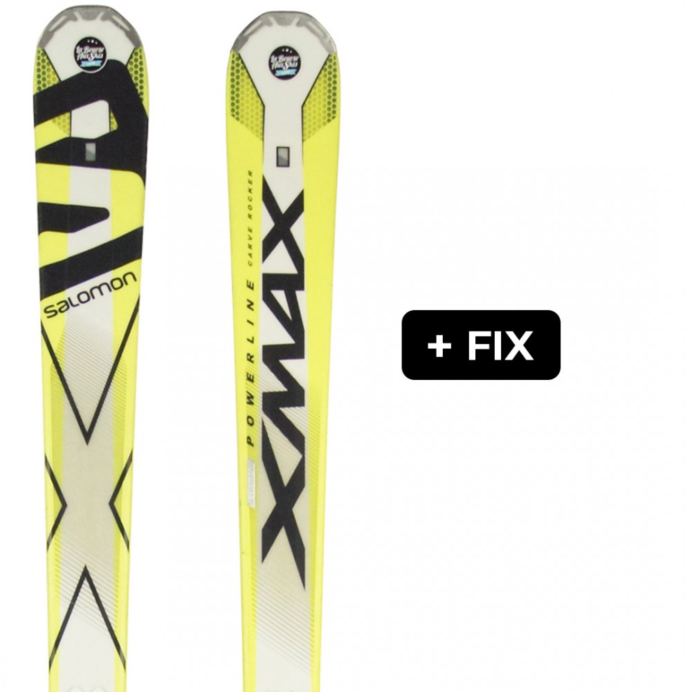 SALOMON X-MAX + FIX