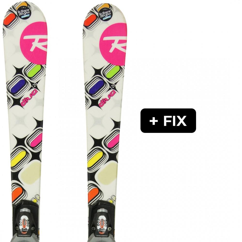 ROSSIGNOL DIVA JR + FIX